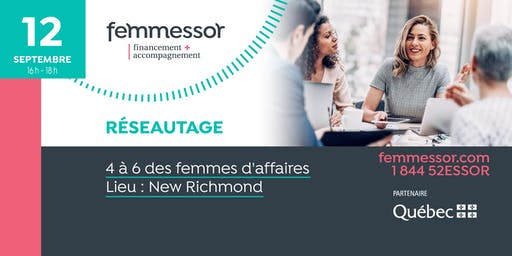 4 à 6 des femmes d'affaires | Région de la Gaspésie – Îles-de-la-Madeleine
