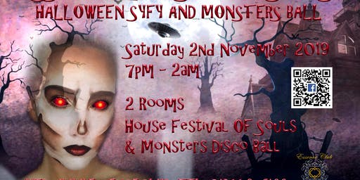 Halloween SyFy and Monsters Ball