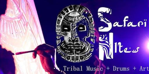 Safari Nites - Tribal Music + Art + Drums