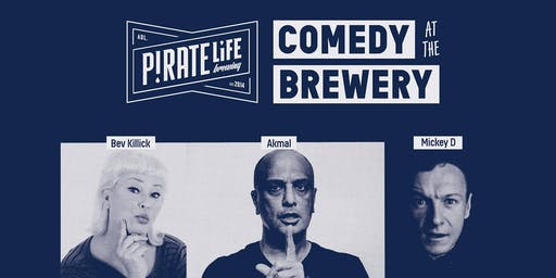 COMEDY @ PIRATE LIFE BREWING
