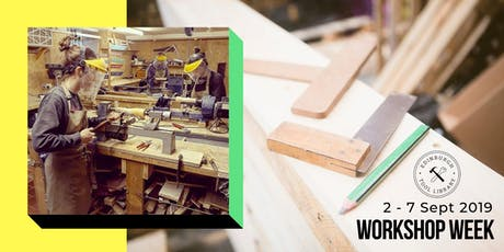 Women's Woodshop - Wood turning for beginners tickets