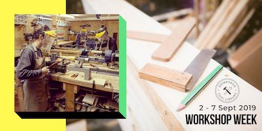 Women's Woodshop - Wood turning for beginners