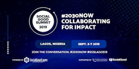 Social Good Summit Lagos 2019 tickets