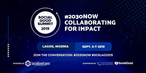 Social Good Summit Lagos 2019