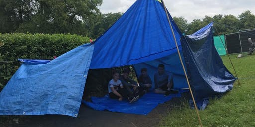 Intro to Dens, Tarps and Fire for Outdoor Practitioners based in Glasgow