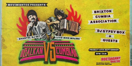 Movimientos: Balkan Vs. Cumbia - Shantel (DJ Set), Nirk Molina & More! tickets