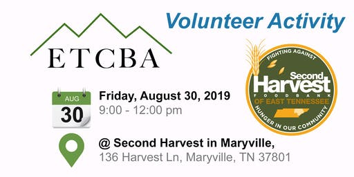 ETCBA Volunteer Event: Second Harvest