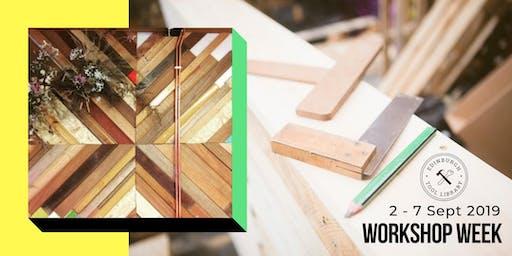 Geometric Wooden Wall Art Workshop