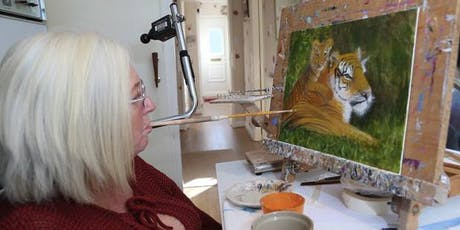 Meet the Artist: A Unique Art Event with Mouth Painter Jacky Archer tickets