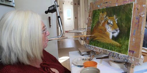 Meet the Artist: A Unique Art Event with Mouth Painter Jacky Archer