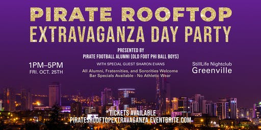 Pirate Rooftop Extravaganza