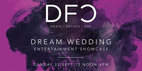 DFC Wedding Entertainment Showcase at Mitton Hall in association with James' Places tickets