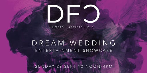 DFC Wedding Entertainment Showcase at Mitton Hall in association with James' Places