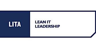 LITA Lean IT Leadership 3 Days Virtual Live Training in Waterloo