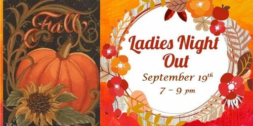 September Ladies Paint Night