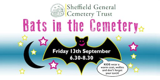 Bats in the General Cemetery - Friday 13th September