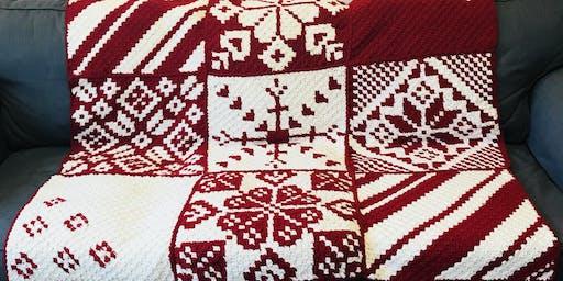 Crochet a Christmas Blanket