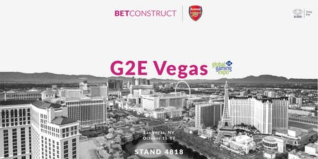 BetConstruct at G2E Vegas tickets