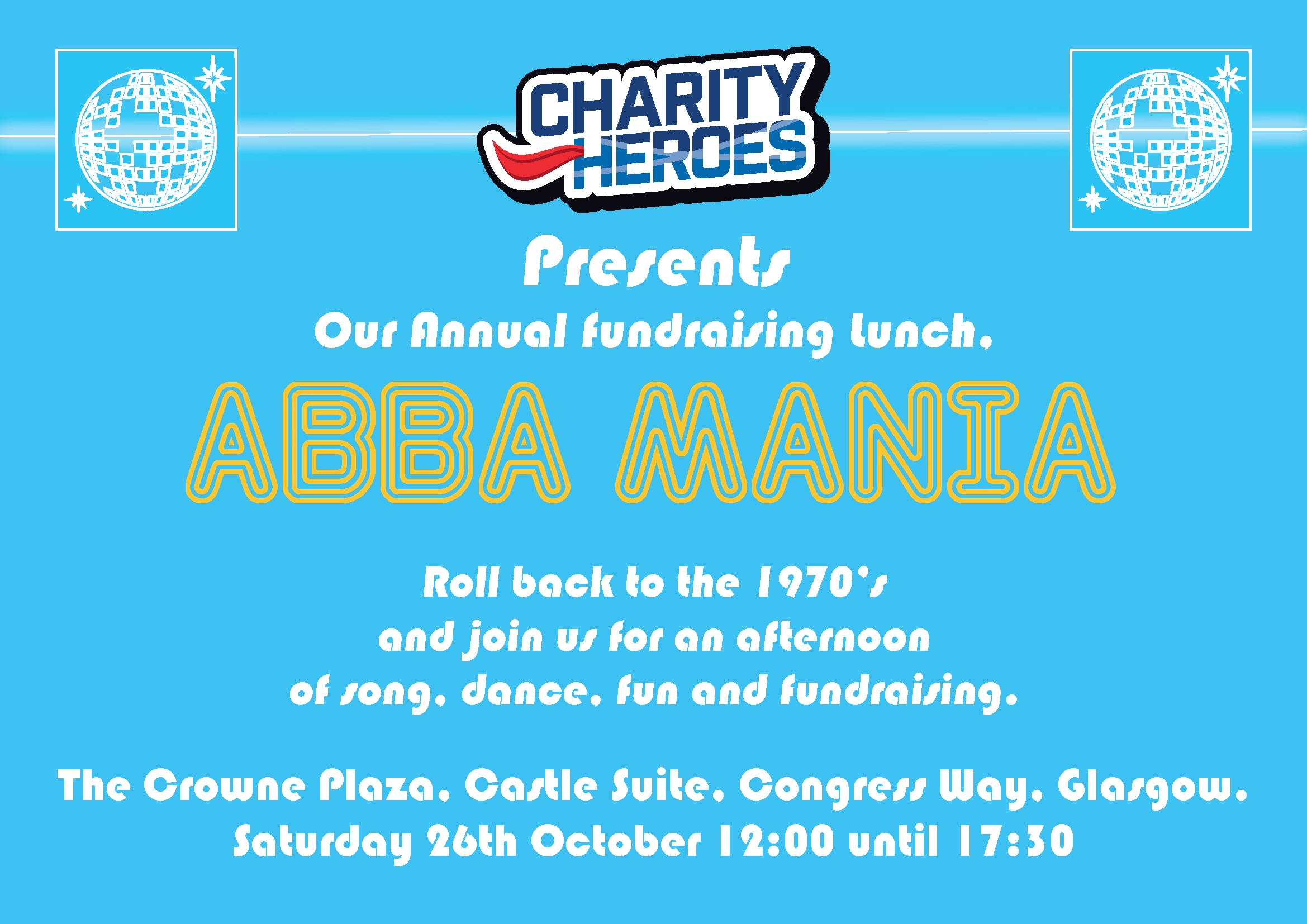 Charity Heroes, Abbamania Lunch