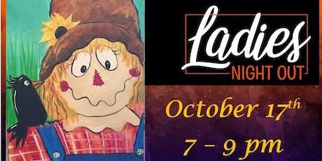 October Ladies Paint Night tickets