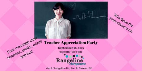 Teacher Appreciation Party tickets
