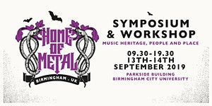 PUBLIC Home of Metal Symposium: Music Heritage, People...