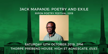 Jack Mapanje: Poetry and Exile tickets