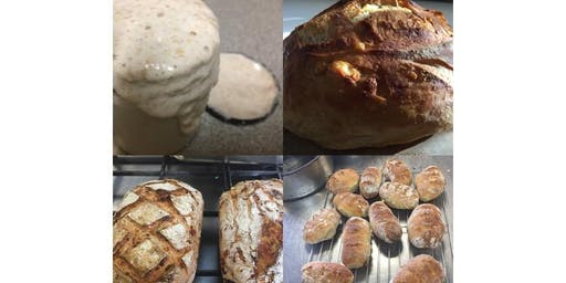Breaking Bread; Sourdough workshop - Hervey Bay September