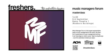 MASTERCLASS: The Music Managers Forum tickets