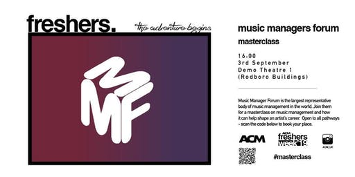 MASTERCLASS: The Music Managers Forum