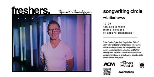 MASTERCLASS: Songwriting Circle with Tim Hawes