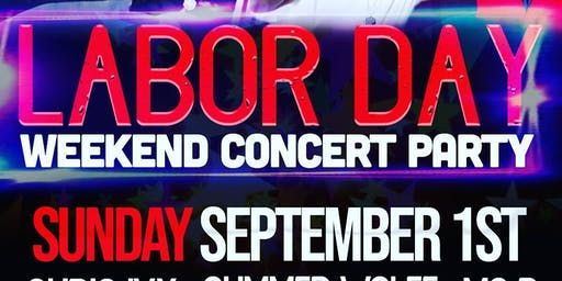 Labor Day weekend Concert and Party