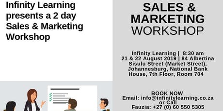 Sales and Marketing  tickets