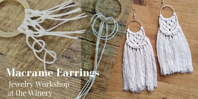 Macrame Earrings Jewelry Workshop