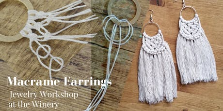 Macrame Earrings Jewelry Workshop tickets