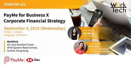 PayMe for Business X Corporate Financial Strategy tickets