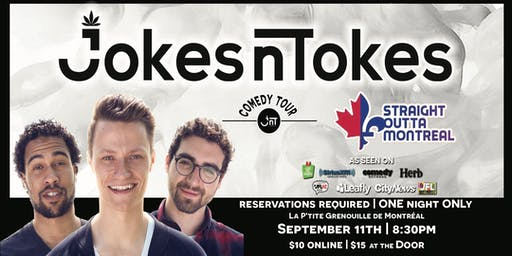 JNT Comedy - Montreal - Eastern Canada Tour