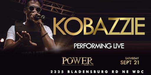 Kobazzie Live In DC