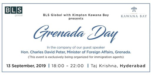 Grenada day with Kimpton Kawana Bay (@ Hyderabad - for immigration agents only)