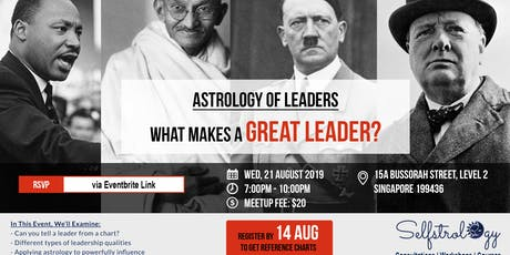 STUDENTS-ONLY MEETUP: What Makes A Great Leader? tickets