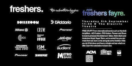 ACM Freshers Fayre tickets