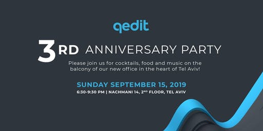 QEDIT's 3rd Anniversary Cocktail Party