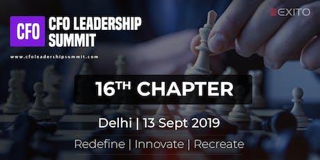 CFO Leadership Summit 2019 | Delhi tickets