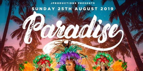 PARADISE BANK HOLIDAY SPECIAL tickets