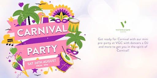 Carnival Pre Party