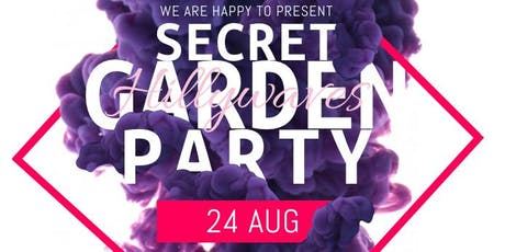 PRE CARNIVAL -  SECRET BBQ GARDEN PARTY tickets
