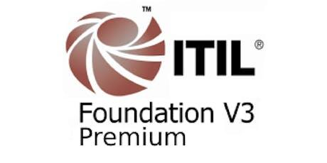 ITIL V3 Foundation – Premium 3 Days Virtual Live Training in Hamilton tickets