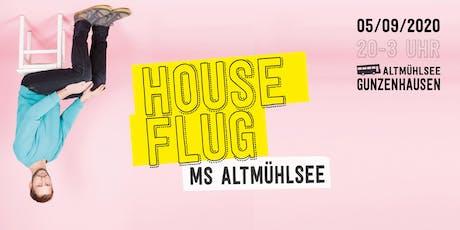 Houseflug MS Altmühlsee w/ Jan Oberlaender Tickets