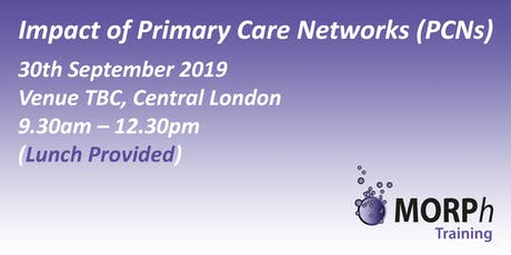 Impact of Primary Care Networks (PCNs), London tickets
