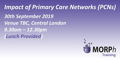 Impact of Primary Care Networks (PCNs), London